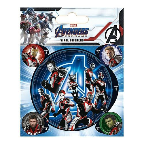 Marvel Avengers Endgame Vinyl Stickers Set Decals